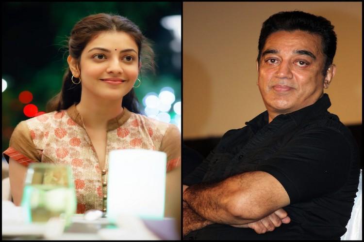 My next film is with Kamal Haasan confirms Kajal Aggarwal