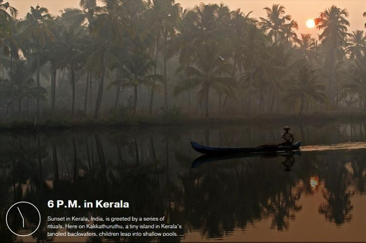 A tiny island in Keralas backwaters made it to NatGeos beautiful destinations photo list