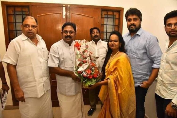 Choreographer Kala Master joins AMMK ahead of Lok Sabha Elections