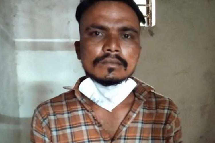 File photo of the accused Premsagar alias from his arrest