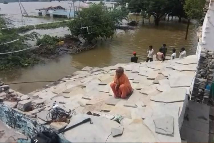 floods have been ravaging north kanratak dstricts for last 4 days