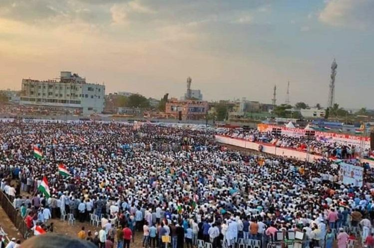 Thousands gather in Kalaburagi in large anti-CAA-NRC protest rally