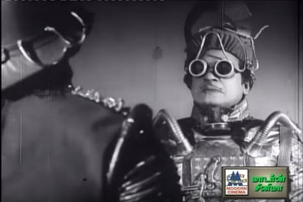A Tamil film that had aliens spaceships anti-gravity boots half a century ago