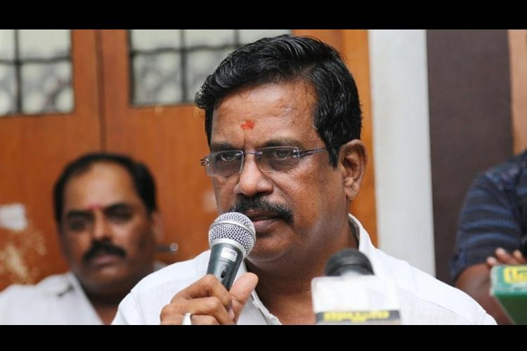 Tamil film producer Kalaippuli S Thanu lands in trouble