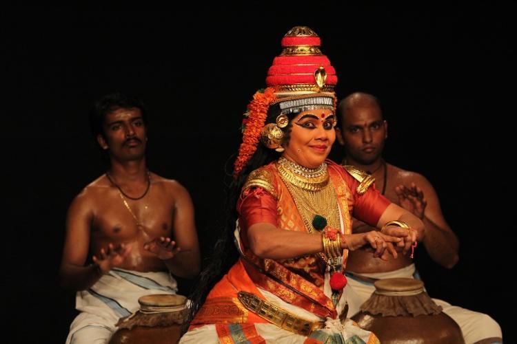 Breaking through Koodiyattams caste-barriers Kalamandalam Girijas revolutionary journey
