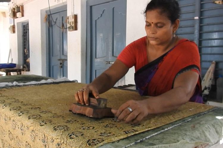 As fake Kalamkari takes over the market the original form struggles to survive