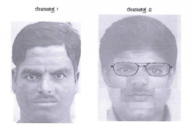 Karnataka Police release sketch of Kalburgi murder suspects