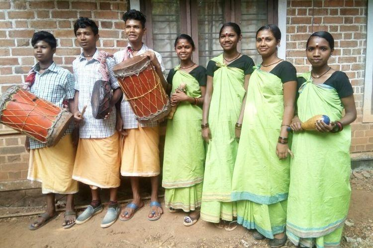 These 7 tribal students from a Wayanad school won hearts at State Kerala Kalolsavam