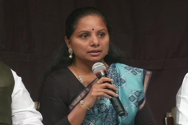 Seeking justice over 200 farmers challenge Nizamabad MP Kavitha in Telangana polls