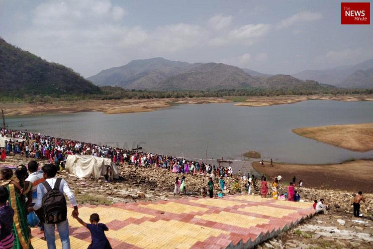Mining near Andhras Kalyanapulova dam illegal must be stopped say activists
