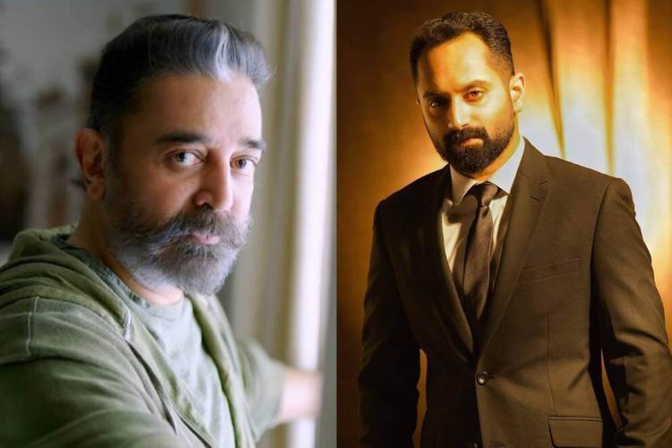 Fahadh Faasil might play the villain in Kamal Haasans Vikram