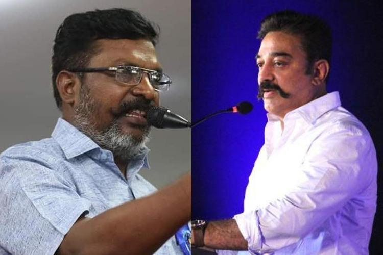 RS Bharathis derogatory remarks MNM says Thirumavalavans silence unfortunate