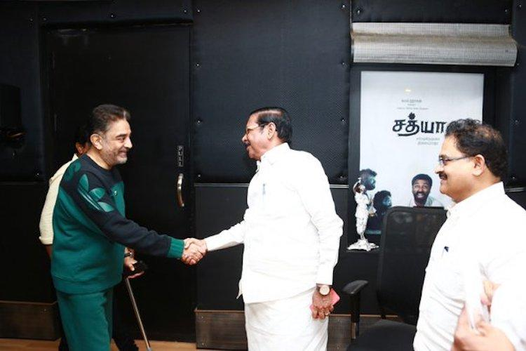 DMK invites MNM Chief Kamal Haasan to participate in their December 23 procession