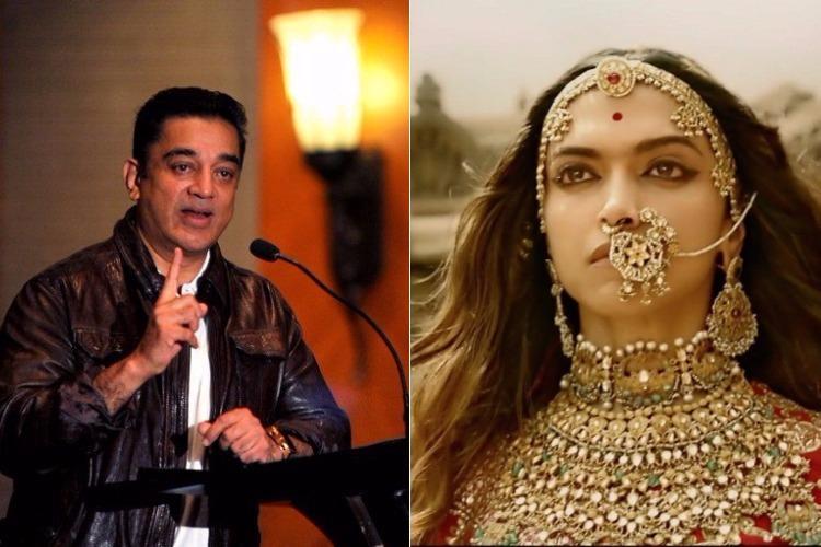 My films opposed by many communities too Kamal Haasan bats for Deepika on Padmavati