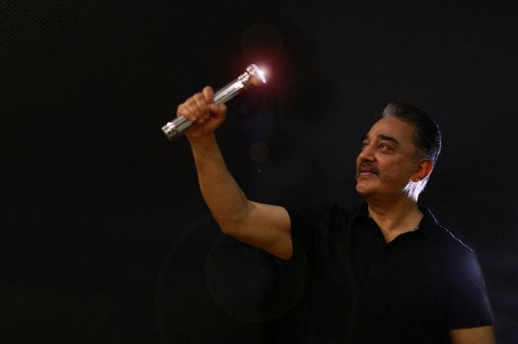 Kamal Haasans Makkal Needhi Maiam party gets battery torch symbol