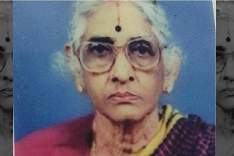 Kamala Ramasamy a freedom fighter from Tamil Nadu passes away at 93