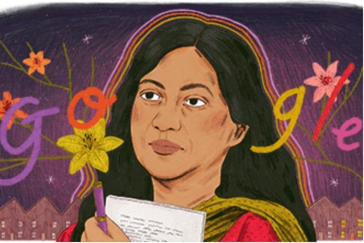 Google honours legendary poet and writer Kamala Dass My Story with doodle