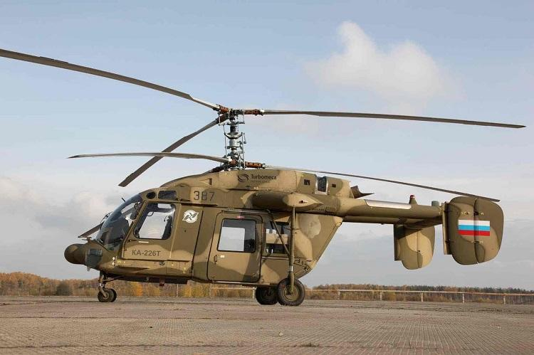 Indias first batch of Kamov choppers to be rolled out from Karnataka by 2025