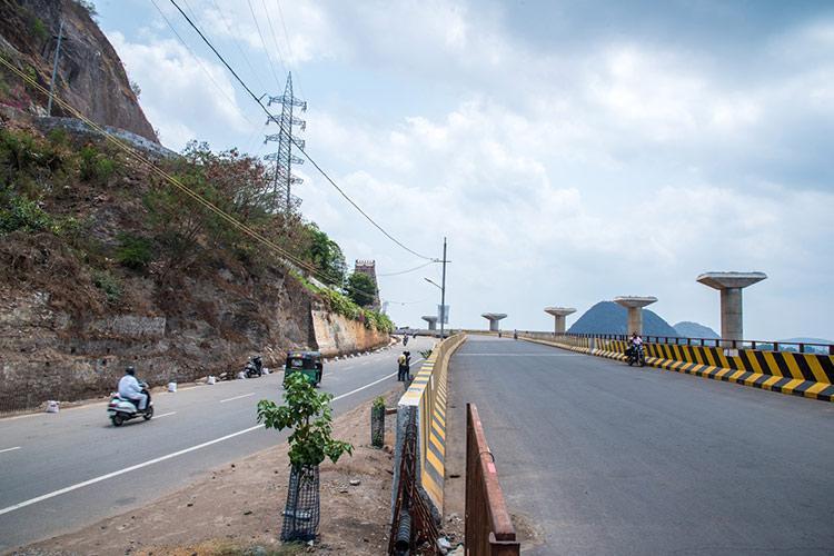 After missing multiple deadlines Vijayawadas Kanaka Durga flyover still incomplete