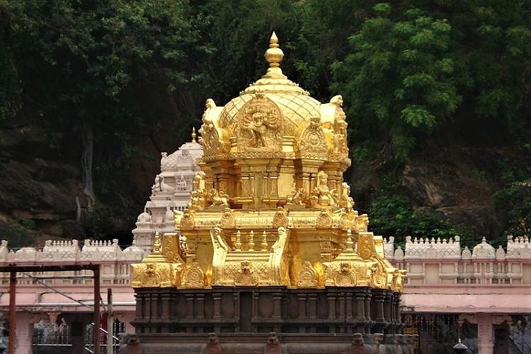 Row over missing saree Vijayawada temple trust board suspends member