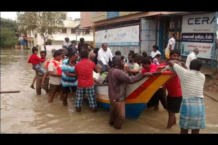 72 dead over 30000 rescued from inundated Kanchipuram