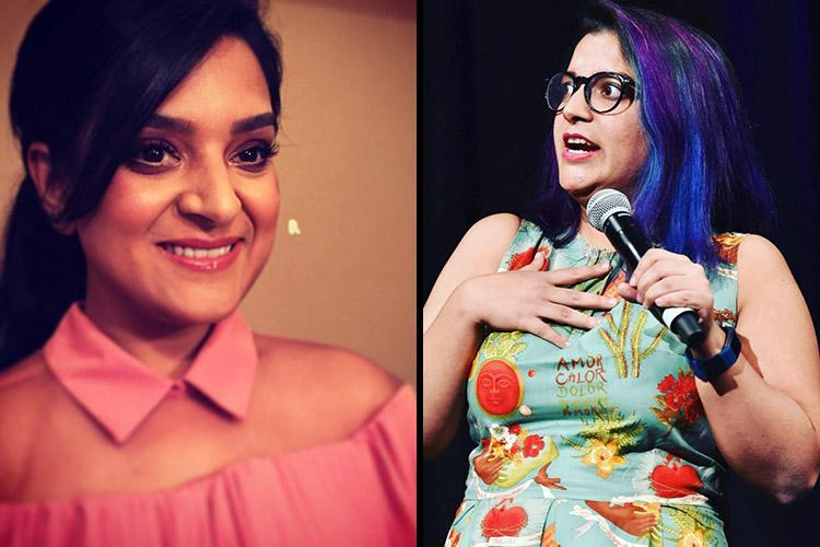 Me Too Comic Aditi Mittal apologises to Kaneez Surka for kissing her without consent