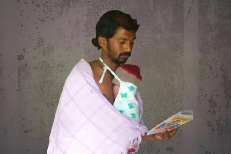 His baby was saved and now this Karnataka man is a champion of Kangaroo mother care
