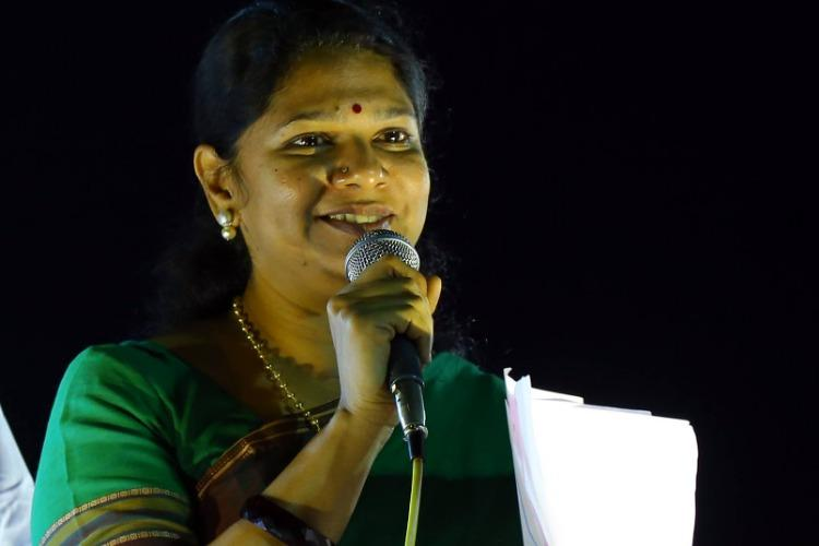 Challenge to Kanimozhis LS win politically motivated DMK after court stays Madras HC case