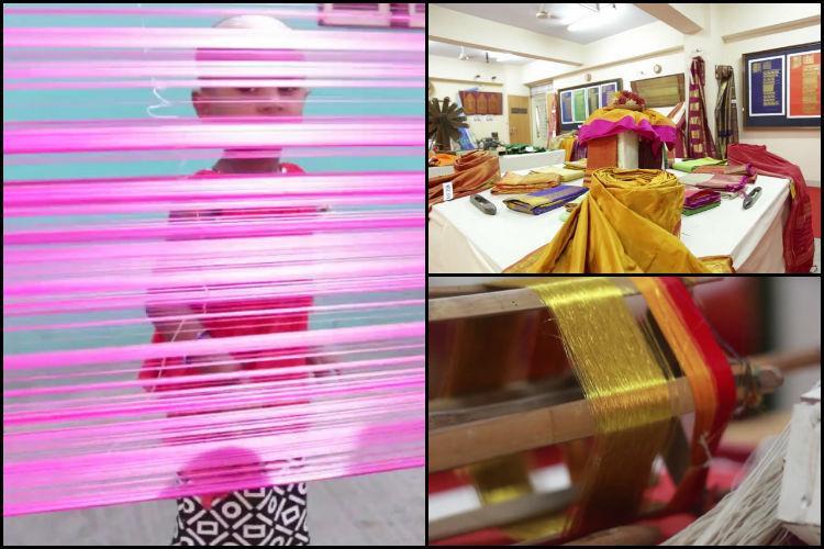 Video Meet the people behind TNs intricate Kanjeevaram sarees