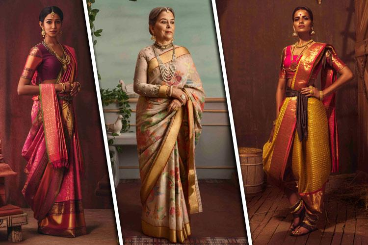 Kankatala envisions royal Queens from Andhra in their latest saree series