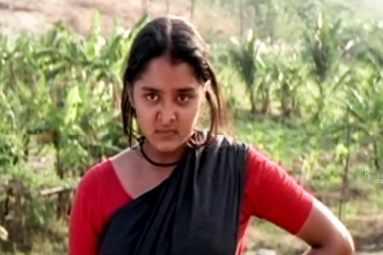 Manju Warrier in Kanmadham made by AK Lohithadas