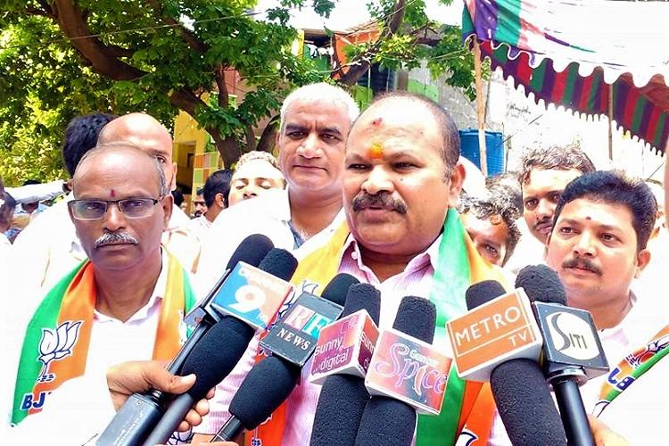Andhra man roughed up at state BJP chiefs event for protest over special status