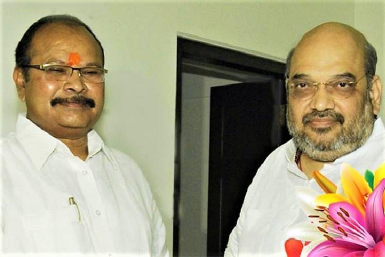 Amit Shah names Lakshminarayana as new Andhra BJP chief