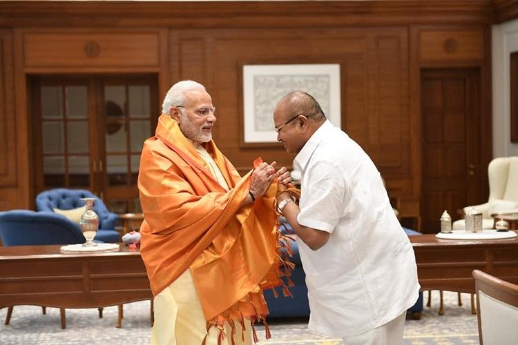 AP BJP President presents lists of demands for the state