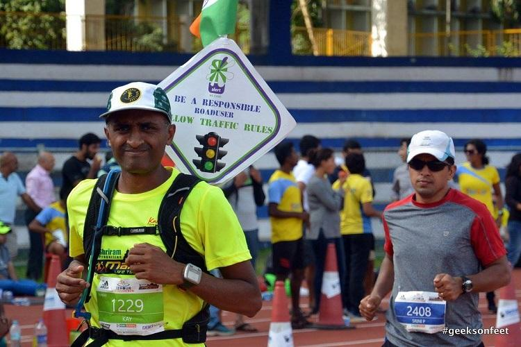 How to save a life This Bengaluru runner stopped his marathon to help an accident victim