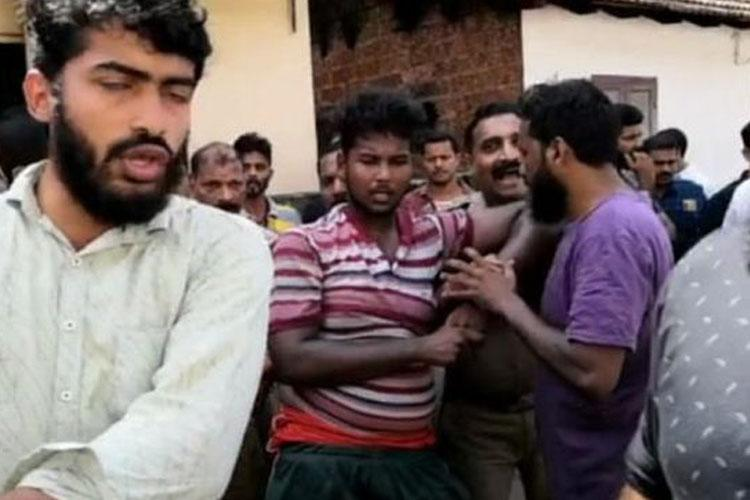 Four people including teen arrested after public scuffle with cops in Kerala