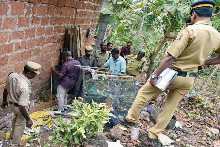 Two children injured after bomb stored in Kerala RSS workers house explodes