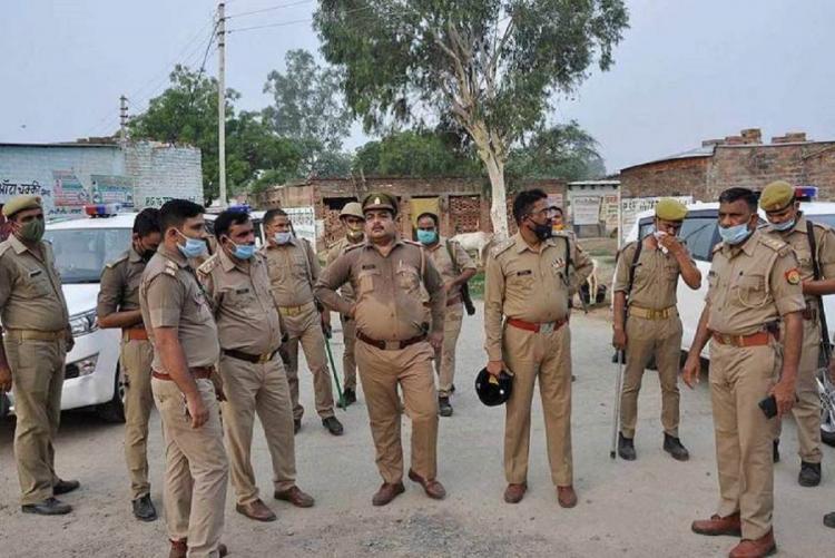 UP Police Kanpur encounter, PTI photo
