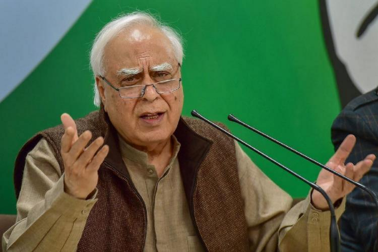 Compelled to speak out Kapil Sibal again questions Congress leadership