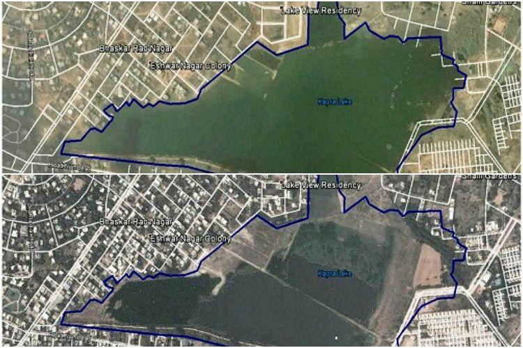 Was Secunderabads Kapra Lake manipulated for a tennis court Activists armed with proof