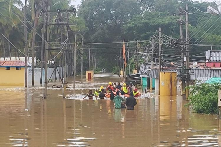 As the water recedes Shivamogga residents come to grips with damage
