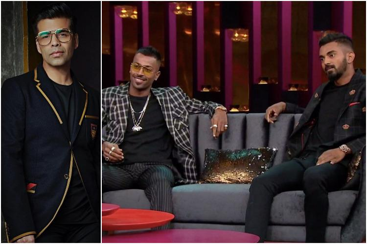 Feel responsible for what happened to them Karan Johar on Hardik Pandya KL Rahul row