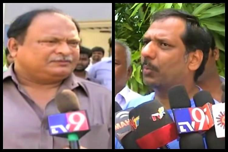 Faction feud in Andhra Followers of TDP MLC and MLA clash in Prakasam district