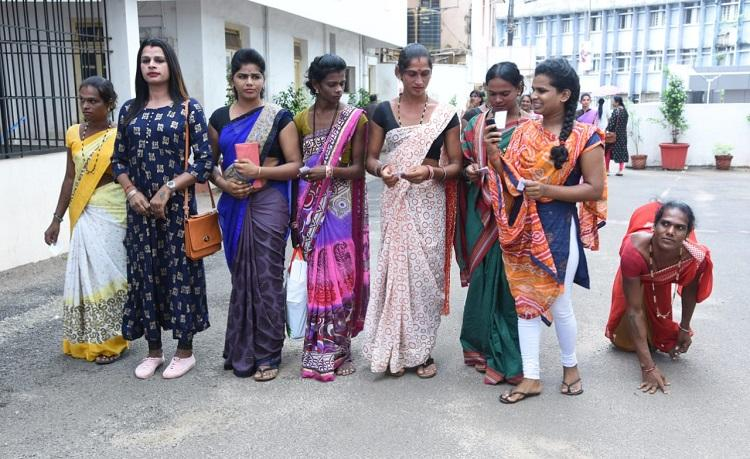 Exercising our basic right Transgender persons vote in large numbers in Karnataka