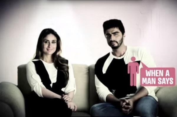 Watch Kareena Kapoor and Arjun Kapoor explain gender stereotypes
