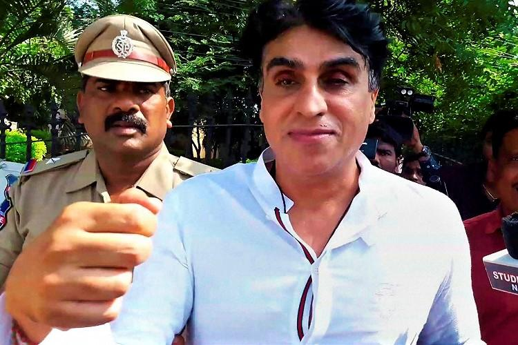 Karim Morani rape case Film producer remanded to judicial custody by Hyd court