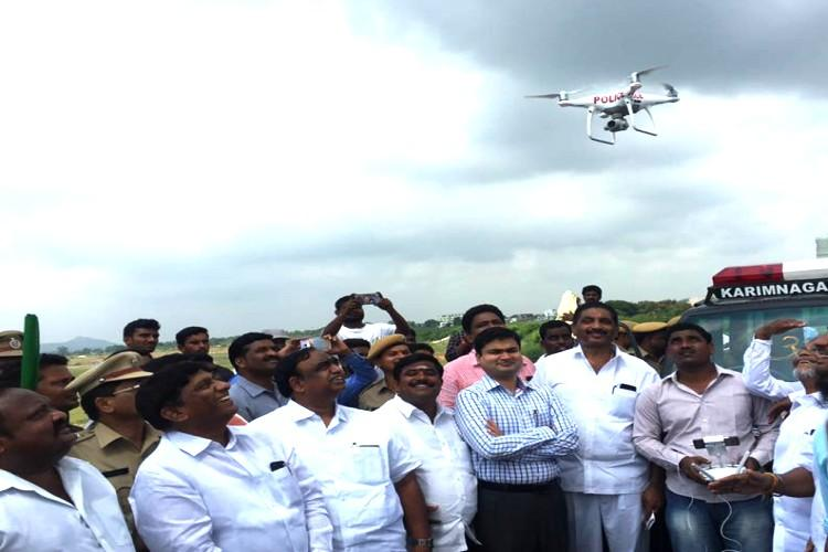 Open defecators beware In Karimnagar there are drones waiting to catch you in the act