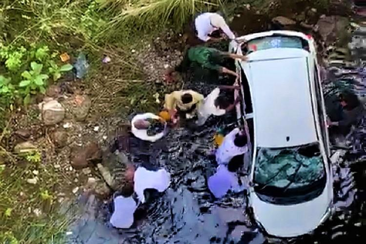 Telangana cop visits accident spot to oversee rescue dies after slipping off bridge