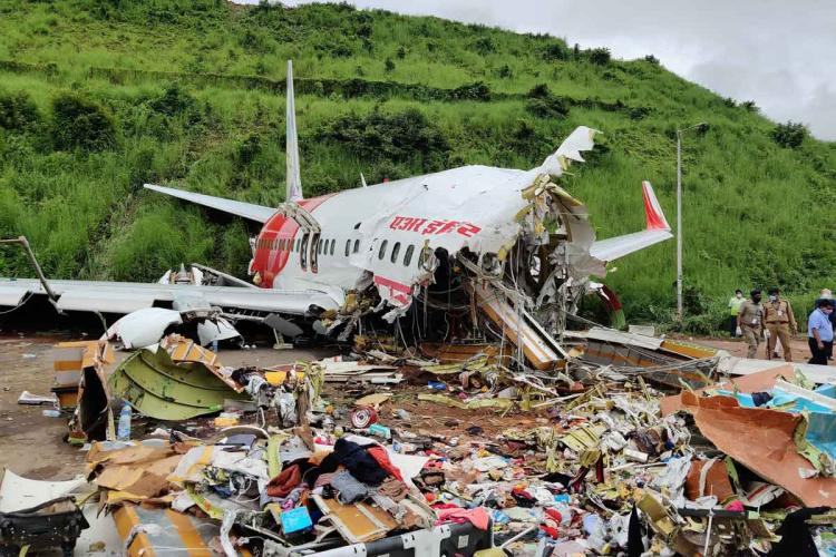 Air India express flight crash at the Calicut International Airport