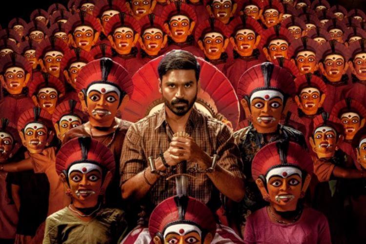 Dhanush is seen in the poster of Karnan